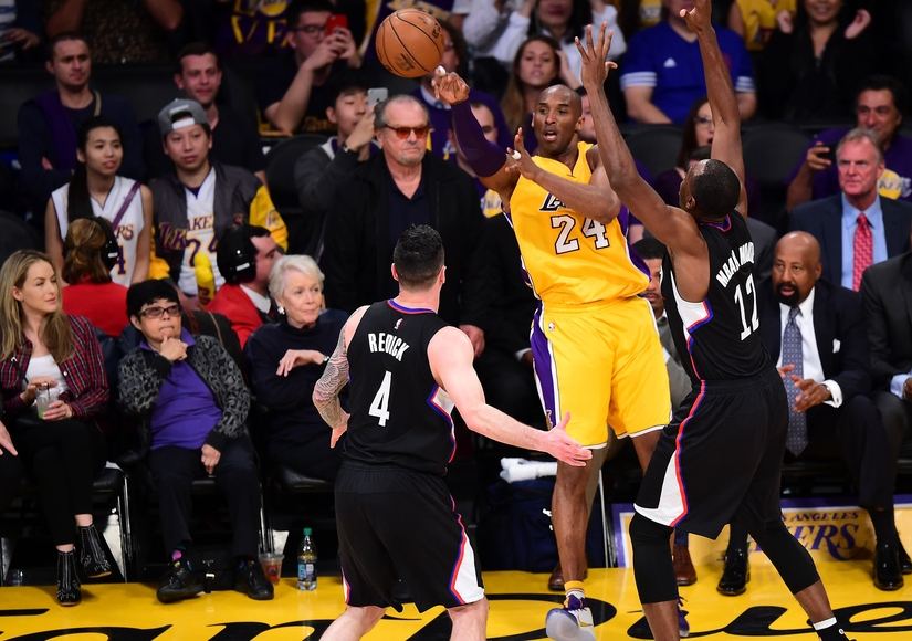 d1ddfca6a0b6 Jack Nicholson   Many Other Stars Reflect on Kobe Bryant s Last Lakers Game