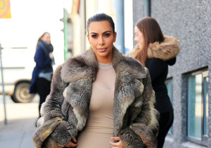 Kim Kardashian Heats It Up in Iceland with Sexy Bodysuit