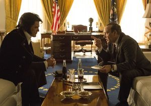 Kevin Spacey and Michael Shannon on Their Stranger Than Fiction Movie 'Elvis…