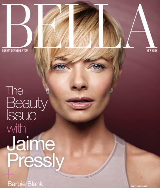 Jaime Pressly Dishes on Best Advice for New Moms