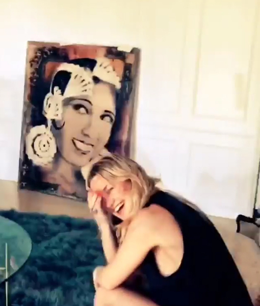 Kate Hudson's Birthday Gift? Three Shirtless Men!