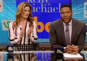 Michael Strahan Hosts 'Live!' Without Kelly Ripa After His Exit Announcement