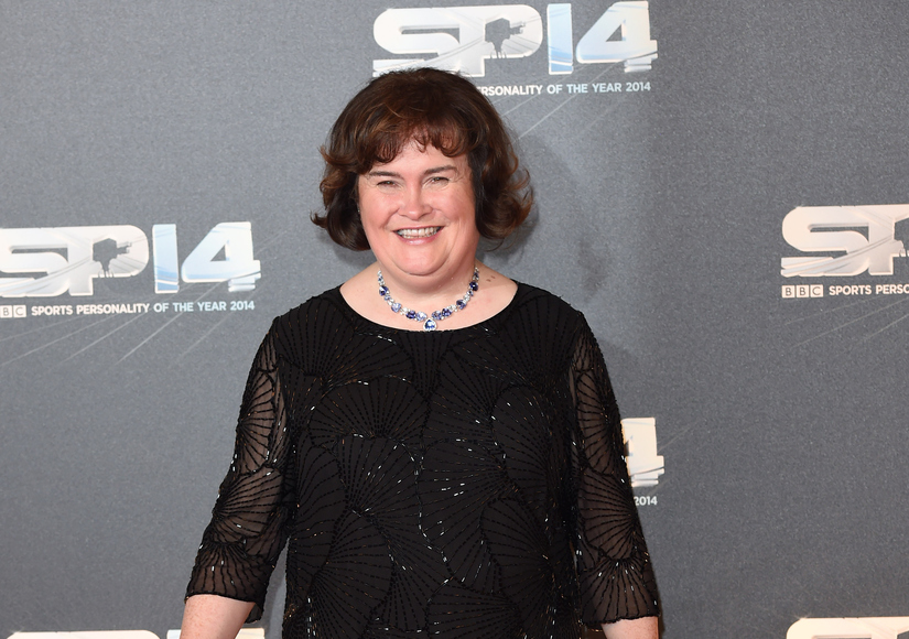 Susan Boyle Hospitalized After Emotional Outburst at Airport