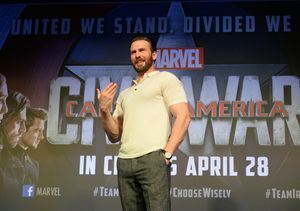 Chris Evans Clarifies Comments About Running for Political Office