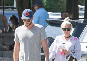 Miley Cyrus Goes Down Under for Liam Hemsworth