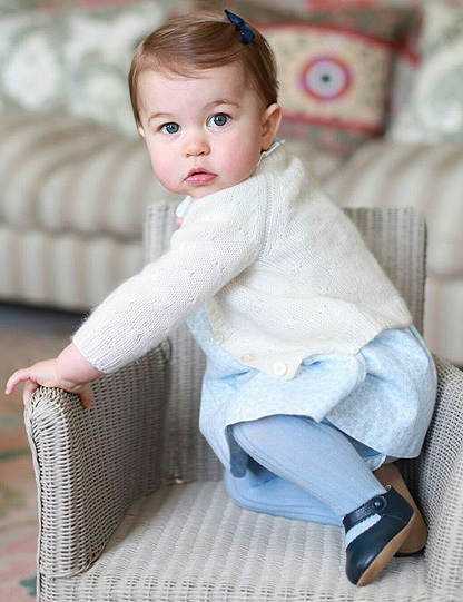 Four Adorable New Princess Charlotte Pics!