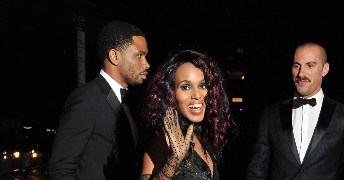 kerry washington�s husband nnamdi asomugha�s coy response