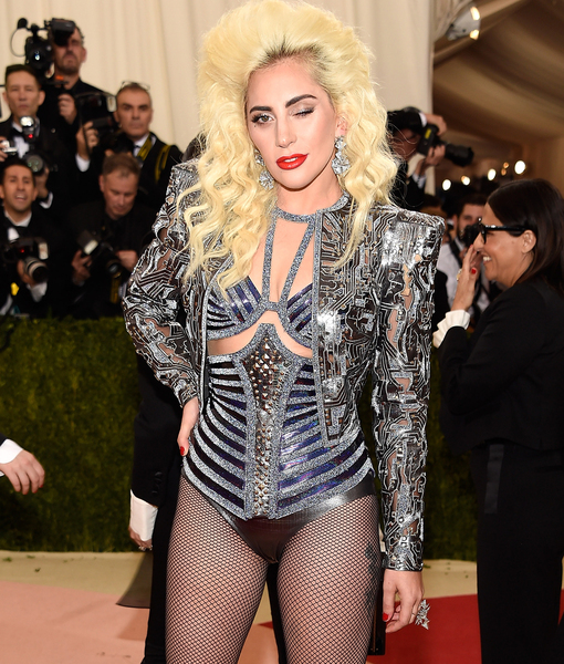 No Pants, No Problem! Lady Gaga Wows on the Met Gala Red Carpet
