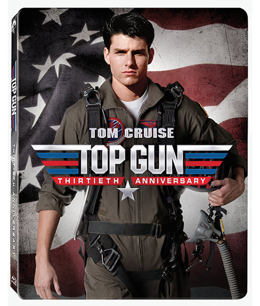 "Enter for a chance to win a Limited Edition 30th Anniversary copy of ""Top Gun"" in the ExtraTV Twitter Giveaway!"