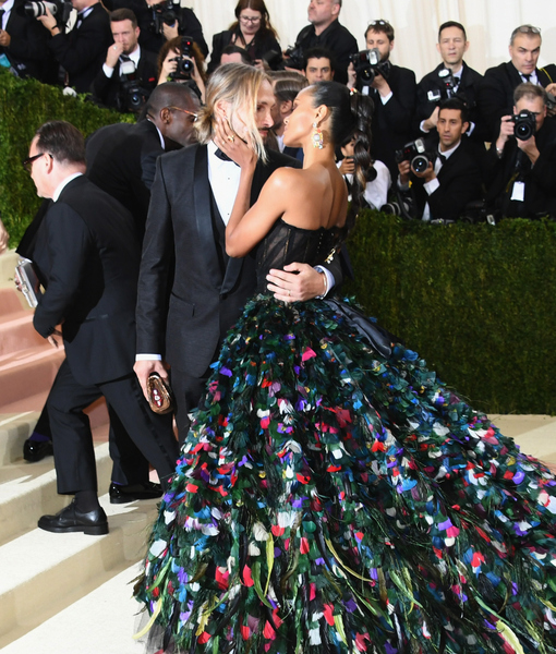 Zoe Saldana Gets Our Vote for Most Dramatic Dress at 2016 Met Gala