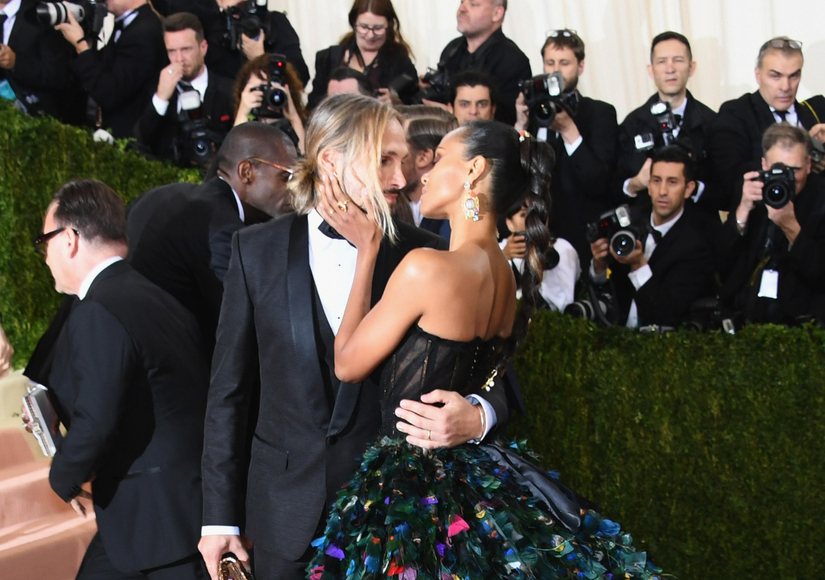 Zoe Saldana Gets Our Vote for Most Dramatic Dress at the 2016 Met Gala