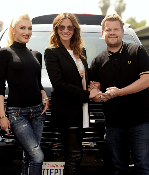 Gwen Stefani's Epic Carpool Karaoke with George Clooney & Julia Roberts