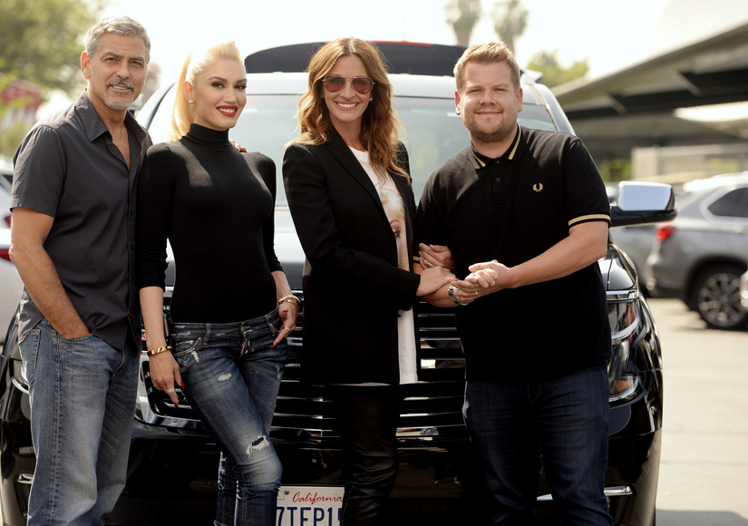 Gwen Stefani's Epic Carpool Karaoke with George Clooney & Julia Roberts