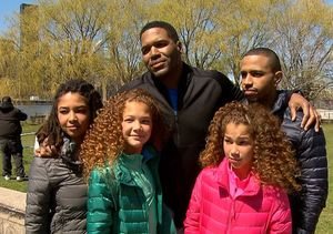 Michael Strahan Gets Grilled by His Kids – Who's His Favorite Child?
