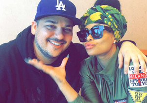 Rob Kardashian & Blac Chyna Reunite for Christmas