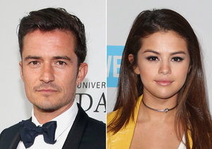 'Touchy-Feely' Orlando Bloom & Selena Gomez Snapped in Las Vegas