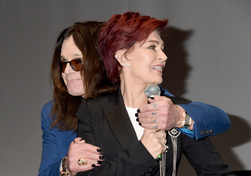 Say What? Sharon & Ozzy Osbourne's Awkward Encounter at Ozzfest Event