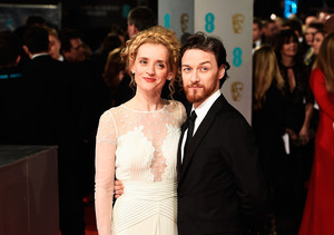 James McAvoy & Anne-Marie Duff Split