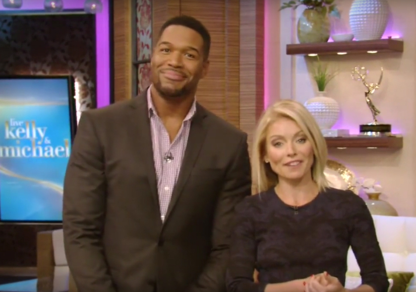Kelly Ripa has a very clear message before Michael Strahan'-s last ...
