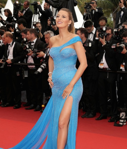 Blake Lively and Her Baby Bump Work the Red Carpet