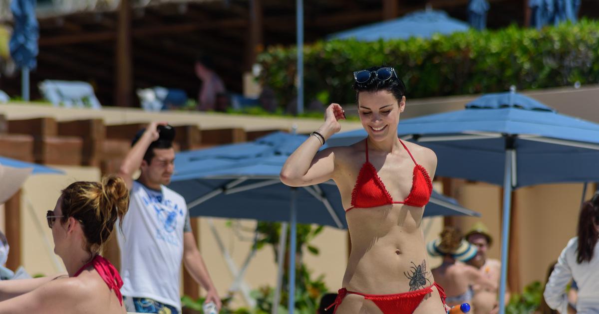 Jaimie Alexander Shows Off Hot Bikini Bod After Broken Engagement
