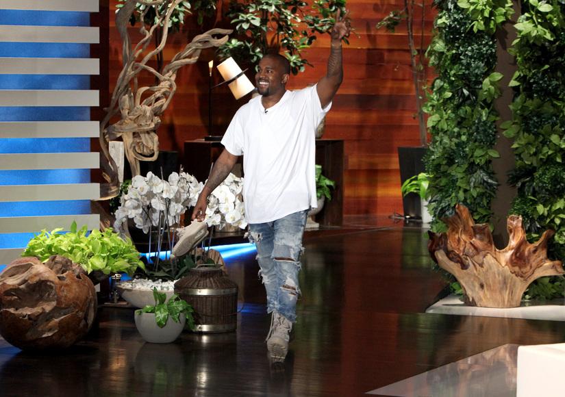 Kanye West's Epic Rant on 'Ellen': 'I'm Sorry for the Realness'