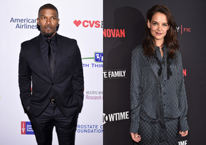 Jamie Foxx & Katie Holmes Step Out for His 50th Birthday