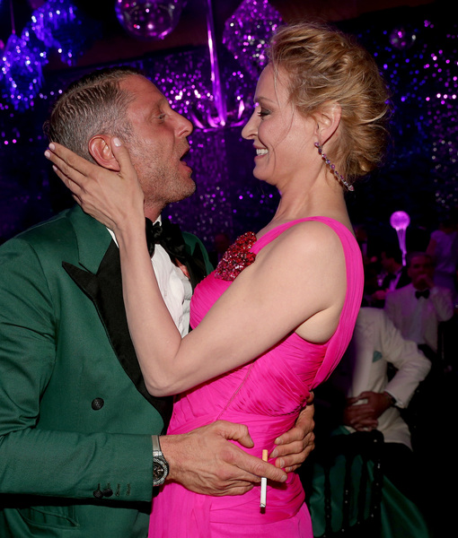 Bidder Takes Uma Thurman Charity Kiss Too Far