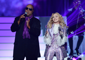 Madonna & Stevie Wonder Pay Tribute to Prince at Billboard Music Awards