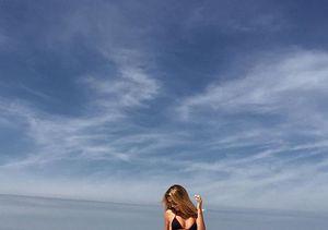 Bikini-Clad Hailey Baldwin Heats It Up at the Beach, Sans Justin Bieber