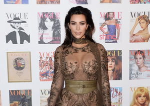 Wow, Just Wow! Look at Kim Kardashian's Dress