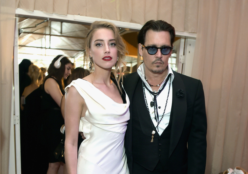 Report: Amber Heard Files Domestic Violence Restraining Order Against Johnny Depp