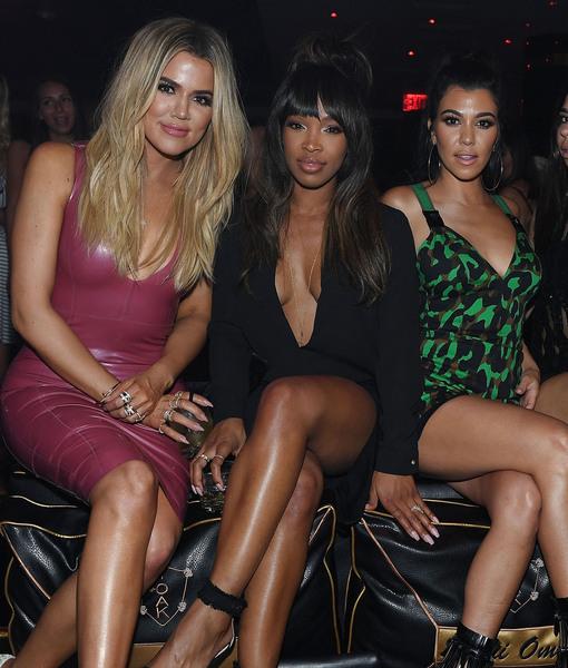 1 OAK_Khloe Kardashian, Malika Haqq & Kourtney Kardashian_Photo Credit Denise Truscello 2