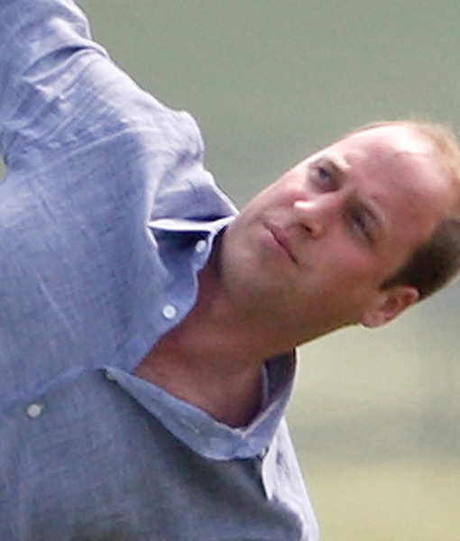 Prince William Does Yoga... in White Jeans!