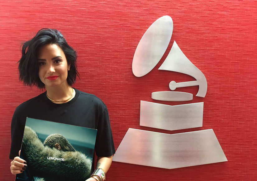 Giving Back: Demi Lovato Brings Awareness to MusiCares Challenge