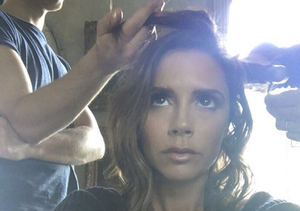 Victoria Beckham Chops Off Her Hair