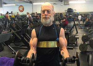 J.K. Simmons Is Insanely Ripped!