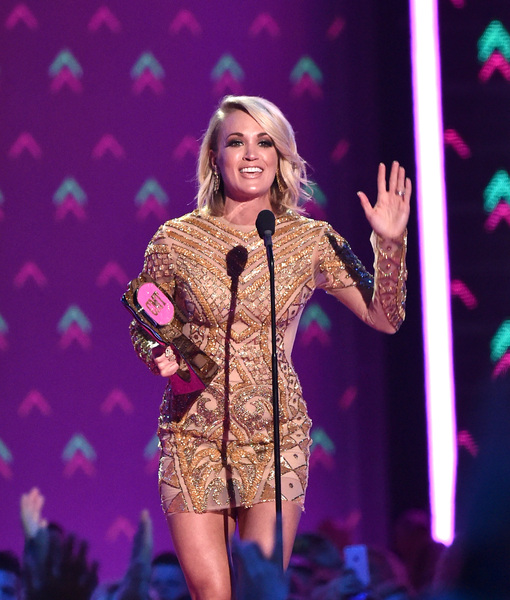 Carrie Underwood on Her CMT Fashion Show, Mike Fisher's Unique Birthday Celebration & Meeting Muhammad Ali