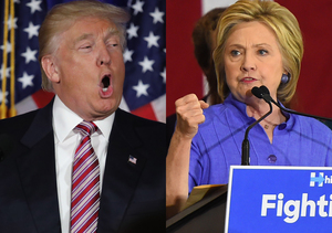 Extra Scoop: Donald Trump & Hillary Clinton's Epic Twitter Battle