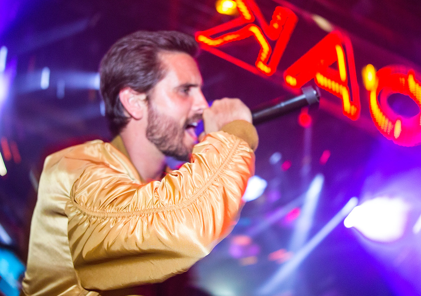 How Scott Disick & Kourtney Kardashian Spent Their Friday Night