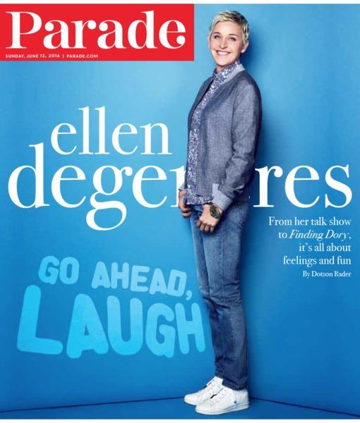 Being Ellen DeGeneres: How the Eternally Upbeat Icon Got That Way