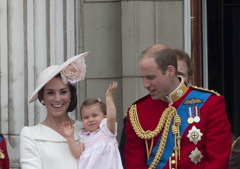 Palace Balcony Debut for Princess Charlotte!