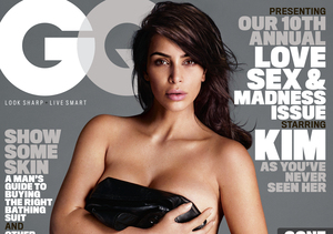 Kim Kardashian's Super Sexy Photo Shoot for First GQ Cover