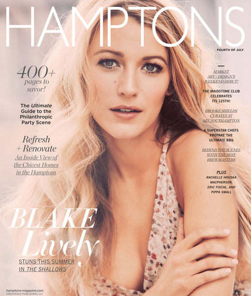 Hamptons Blake Lively Cover