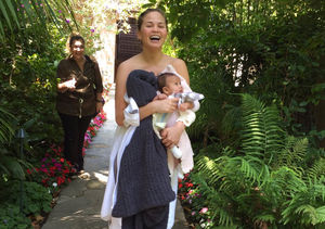 Scary! Why Chrissy Teigen Ran Out of Her Hotel Room Half Naked with Baby Luna