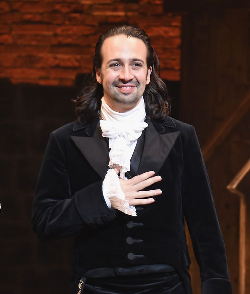 Lin-Manuel Miranda Says Good-bye to 'Hamilton'... and to His Long Hair