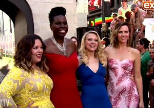 'Extra' Hangs with the Cast of 'Ghostbusters'