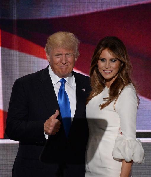 Melania Trump Defends Donald, Blames Billy Bush for 'Locker Room Talk'