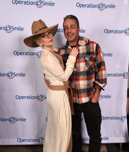 Friendly Exes! Lady Gaga's Ex, Taylor Kinney, Attends Her Historic Concert