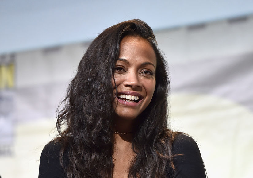 Zoe Saldana Gives Health Update After Hashimoto's Thyroiditis Diagnosis